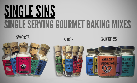 Single Serve Gourmet Baking Mixes